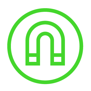 Magnetic-Icon-Green